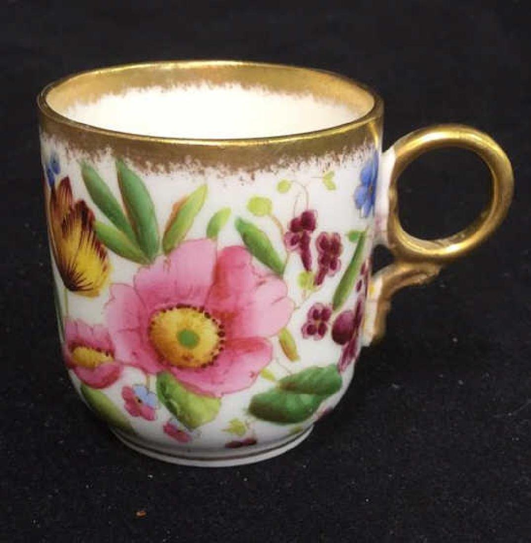 Lot 6 Mixed Bone China Porcelain Dishes And Cups - 6