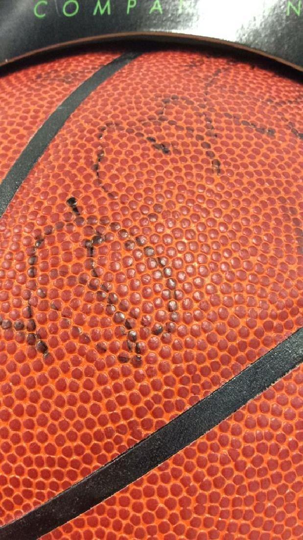 Pair Signed NBA SPALDING Basketballs - 3