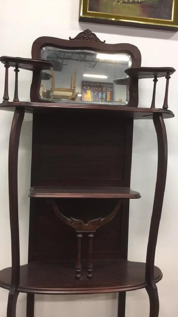 LARKIN Art Nouveau Style Ladies Tall Vanity - 7