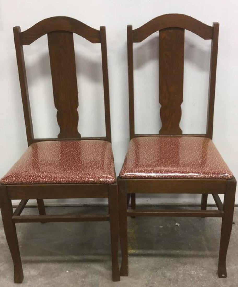 Set 4 Mission Oak Stickley Style Side Chairs - 4