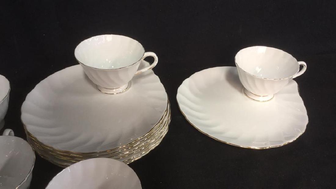 Set 15 Tuscan English China Teacups W Saucer Plate - 2