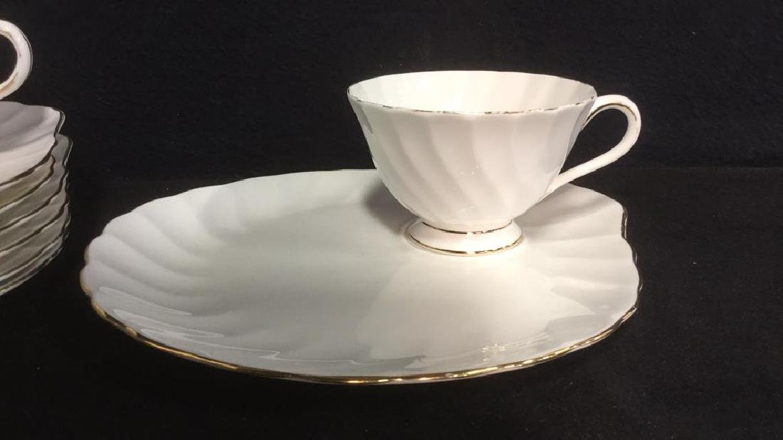 Set 15 Tuscan English China Teacups W Saucer Plate - 3