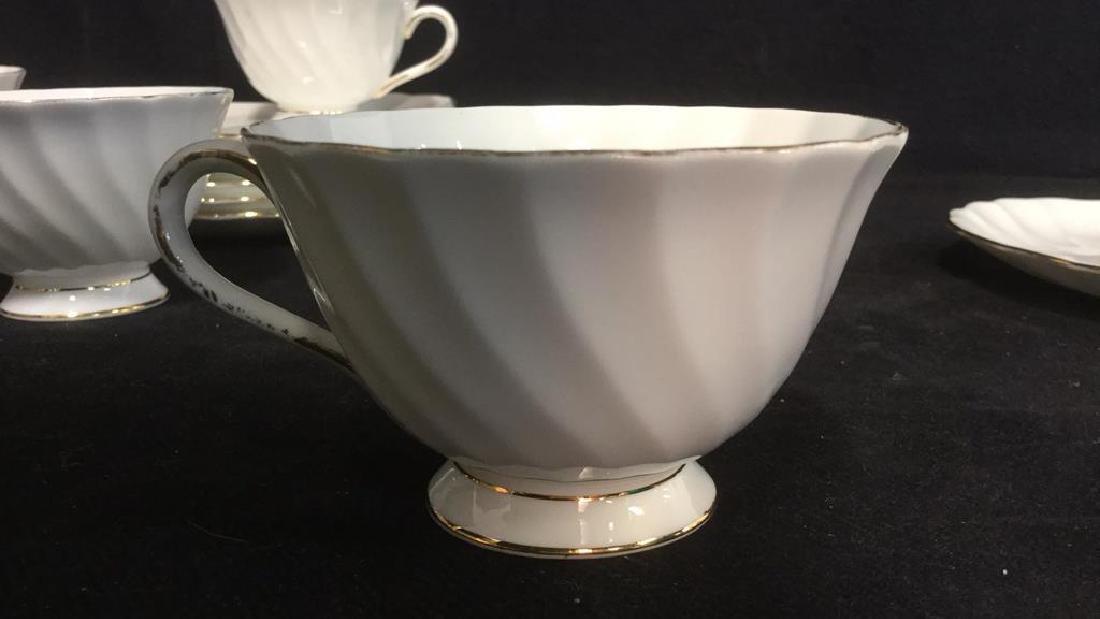 Set 15 Tuscan English China Teacups W Saucer Plate - 6