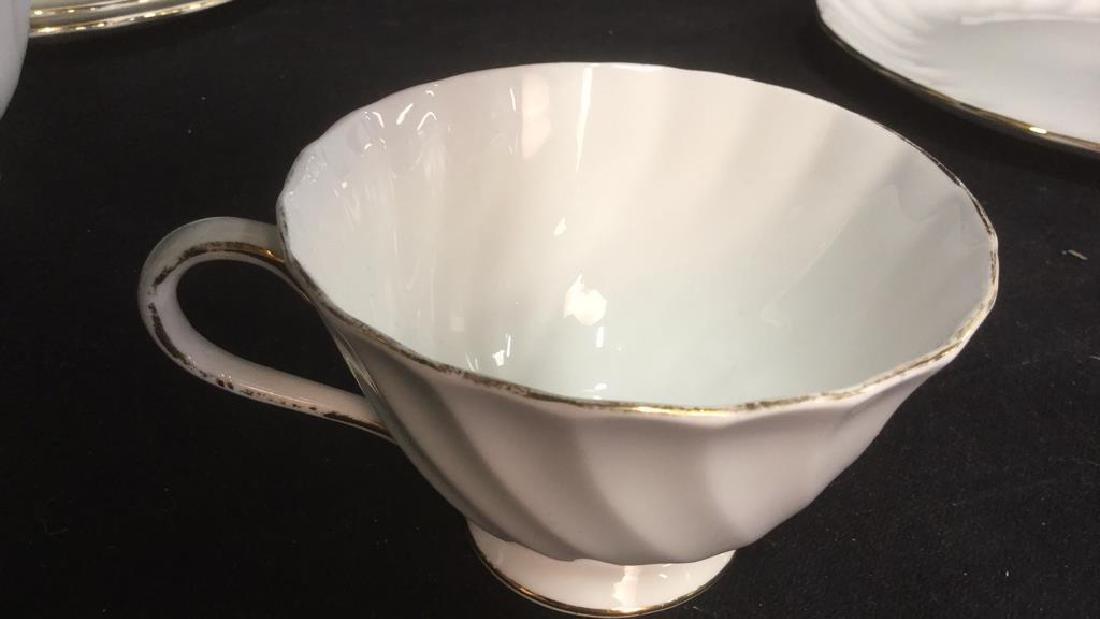 Set 15 Tuscan English China Teacups W Saucer Plate - 7