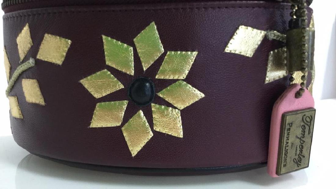 PENHALIGON Leather Vanity Case Purse - 2