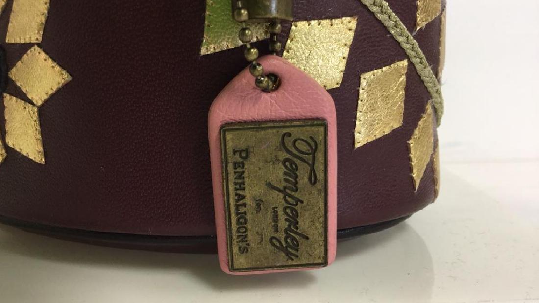 PENHALIGON Leather Vanity Case Purse - 3