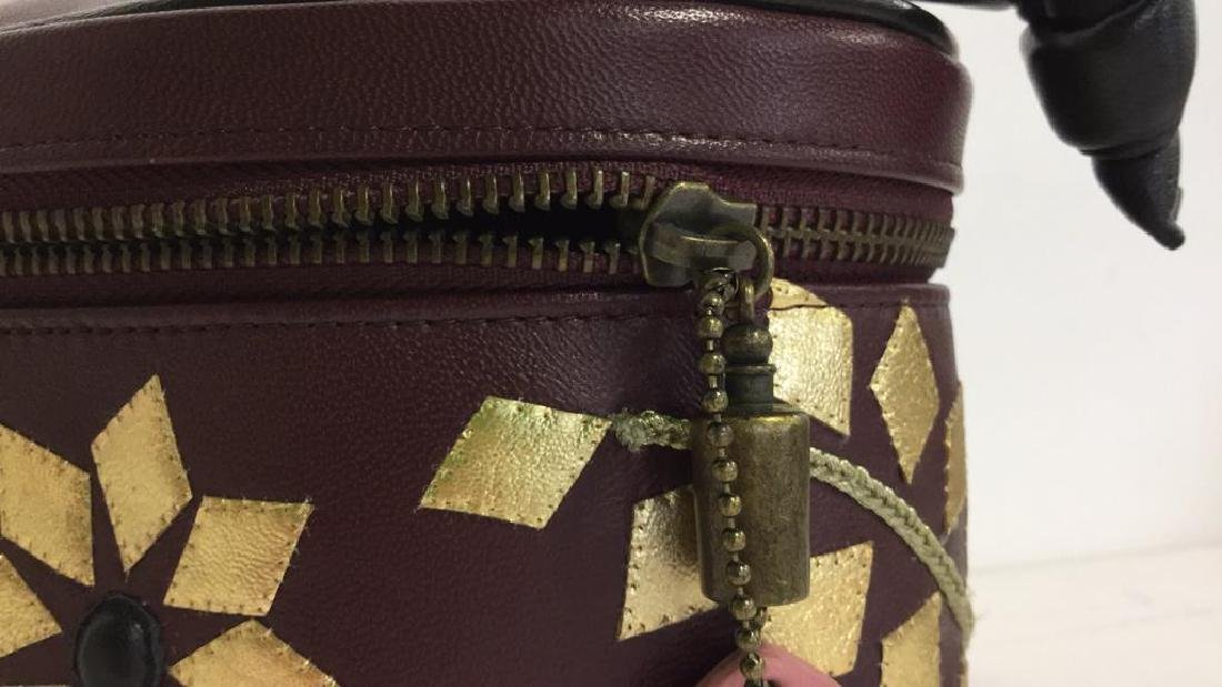 PENHALIGON Leather Vanity Case Purse - 4