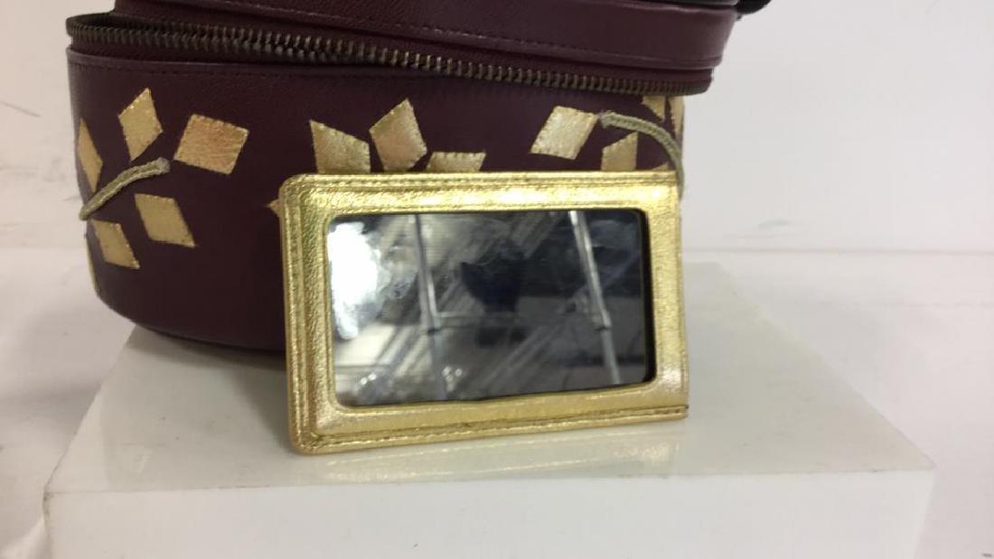 PENHALIGON Leather Vanity Case Purse - 8