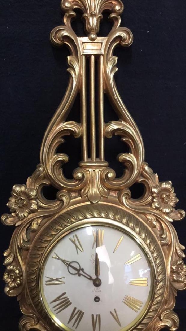SYRACUSE ORNAMENTAL CO Wall Clock - 5