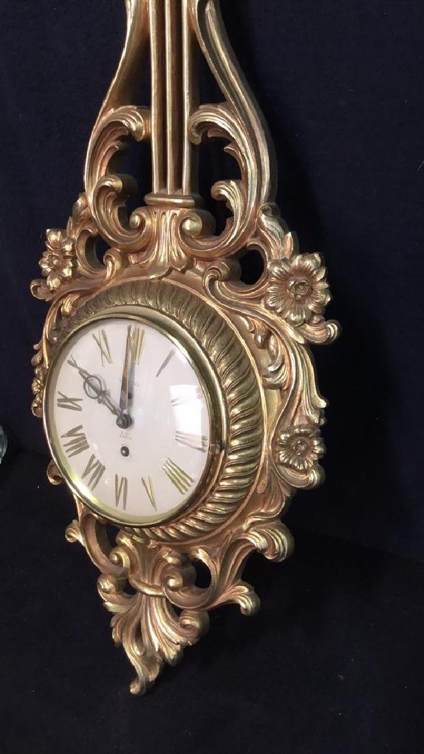 SYRACUSE ORNAMENTAL CO Wall Clock - 6