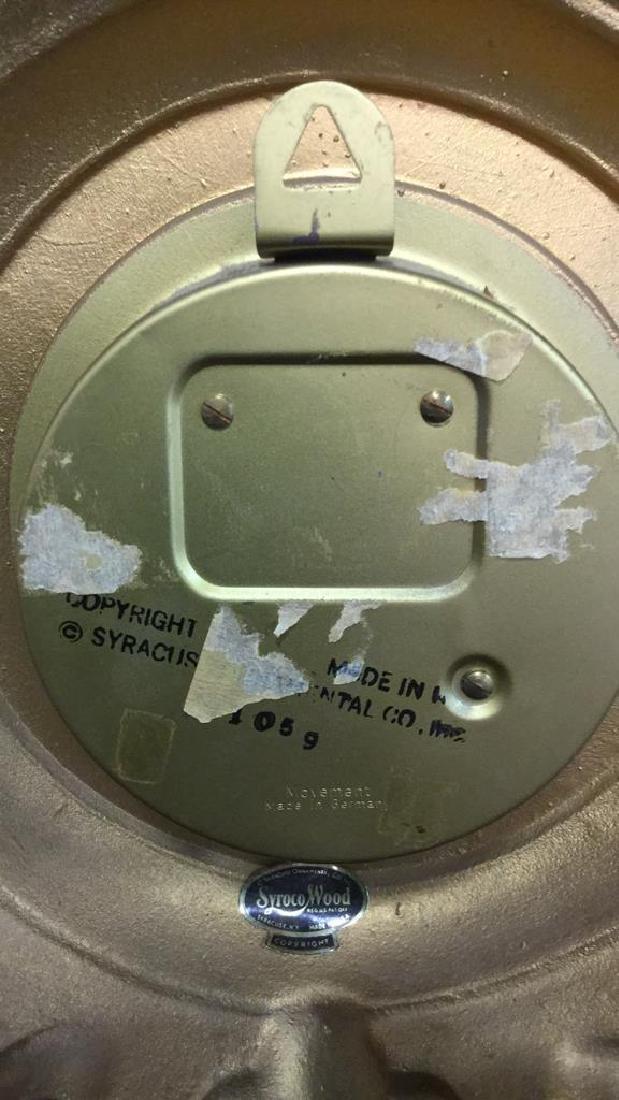 SYRACUSE ORNAMENTAL CO Wall Clock - 8