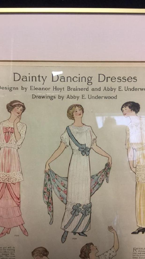 Vintage Style Fashion Illustration Advert - 3