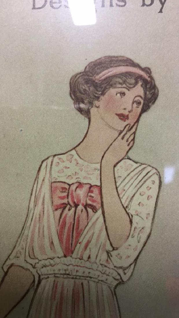 Vintage Style Fashion Illustration Advert - 4