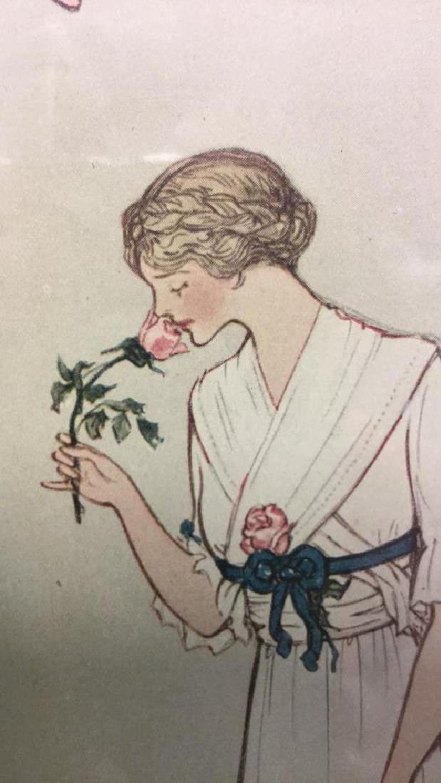 Vintage Style Fashion Illustration Advert - 8