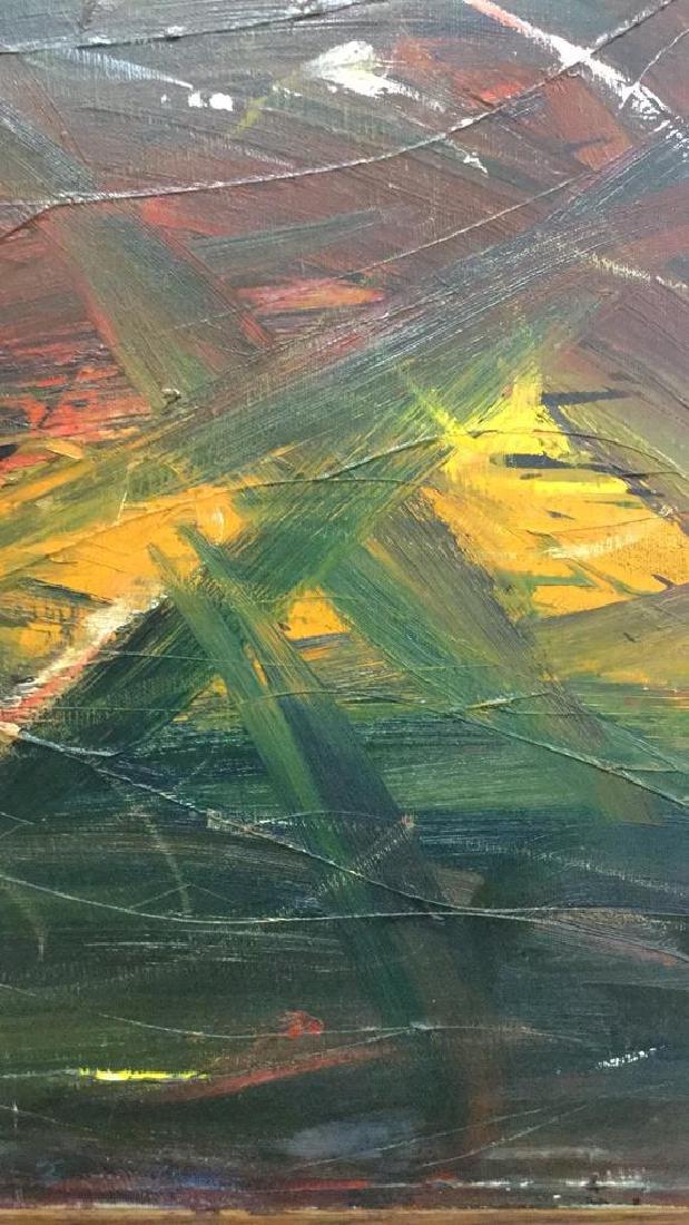 Geoffrey Vulté Vintage Painting on Canvas - 3