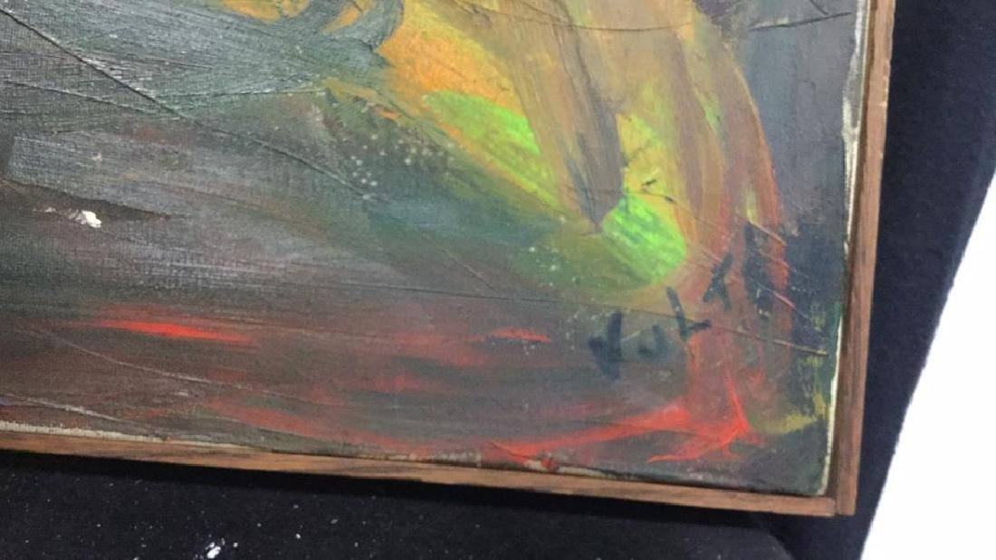 Geoffrey Vulté Vintage Painting on Canvas - 6