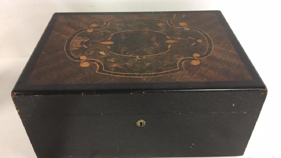Hand Painted Humidor Inlay Style