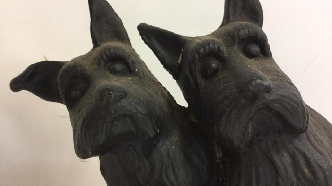 Dog Figural Cast Iron Doorstop - 2