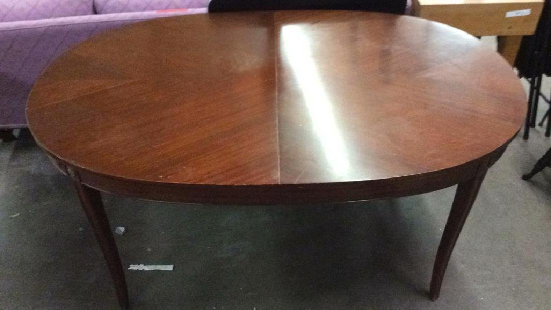 B WALTER & CO Carved Wooden Dining Table