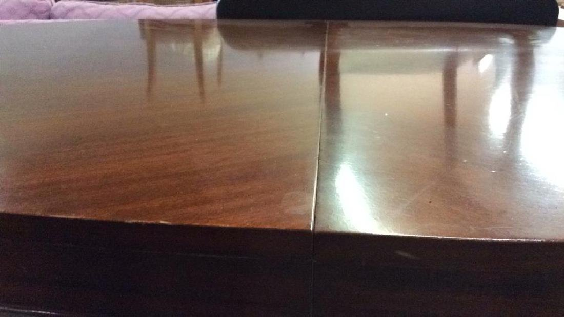 B WALTER & CO Carved Wooden Dining Table - 5