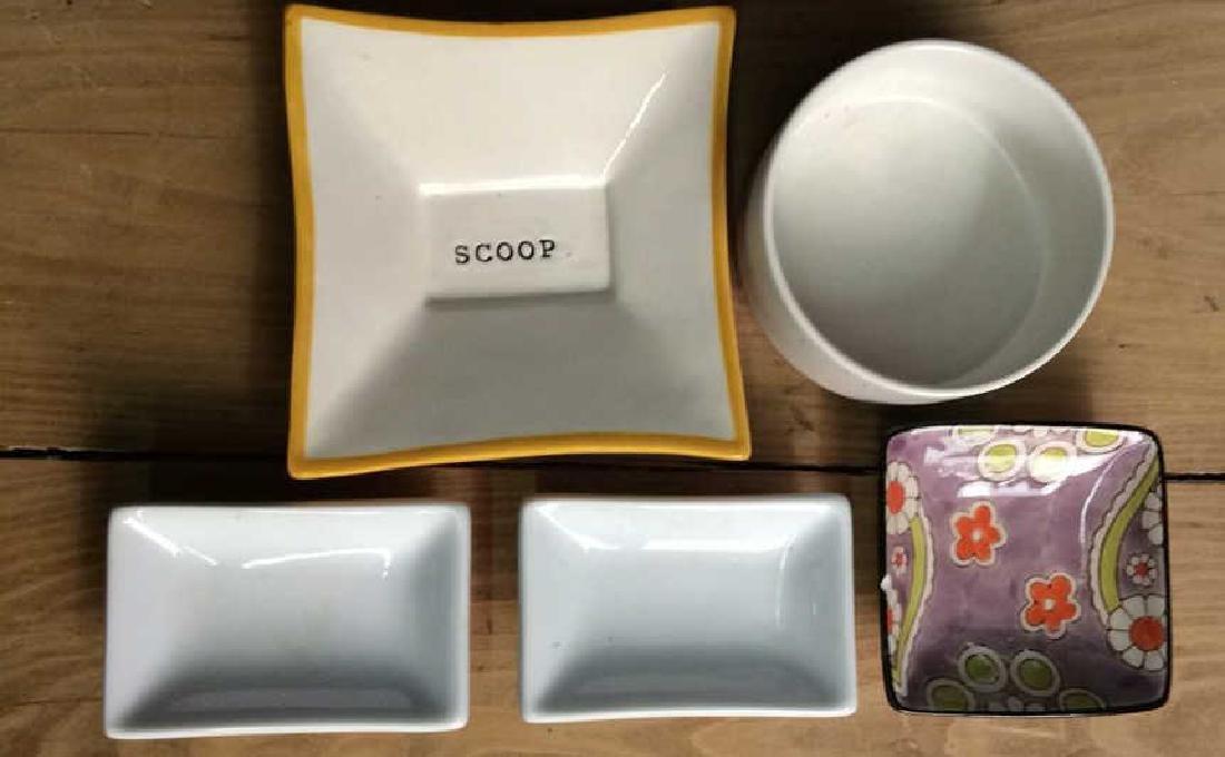 Assorted Porcelain  Ceramics Trinket Dishes