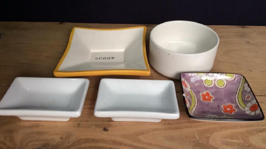 Assorted Porcelain  Ceramics Trinket Dishes - 2