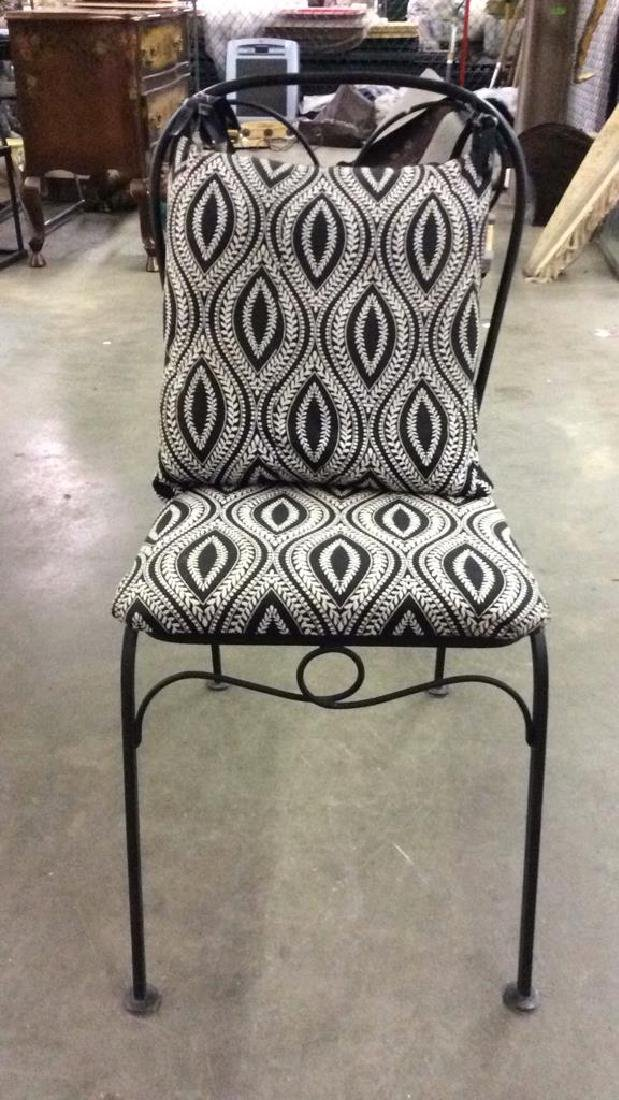 Set 5 Metal Outdoor Table & Chairs - 2