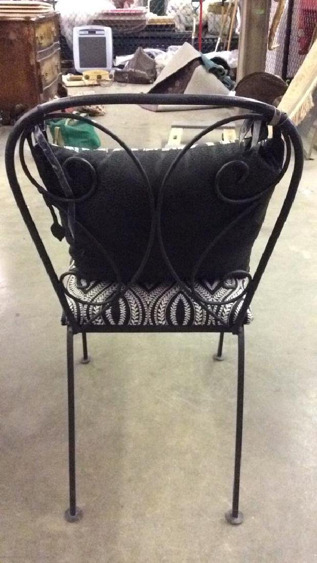 Set 5 Metal Outdoor Table & Chairs - 3