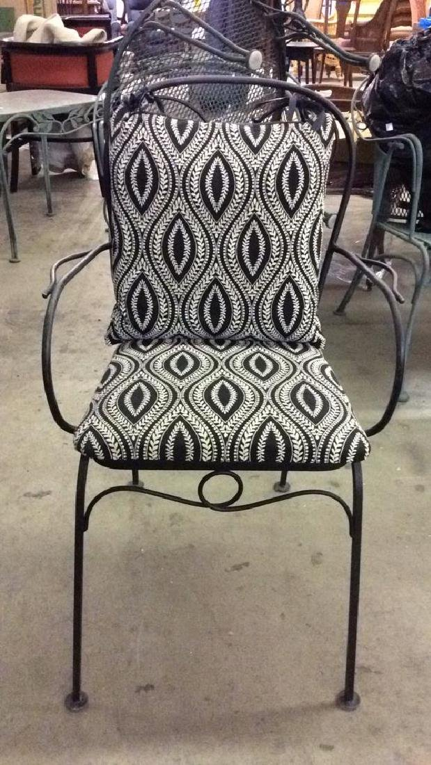 Set 5 Metal Outdoor Table & Chairs - 4
