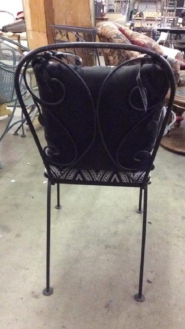 Set 5 Metal Outdoor Table & Chairs - 5