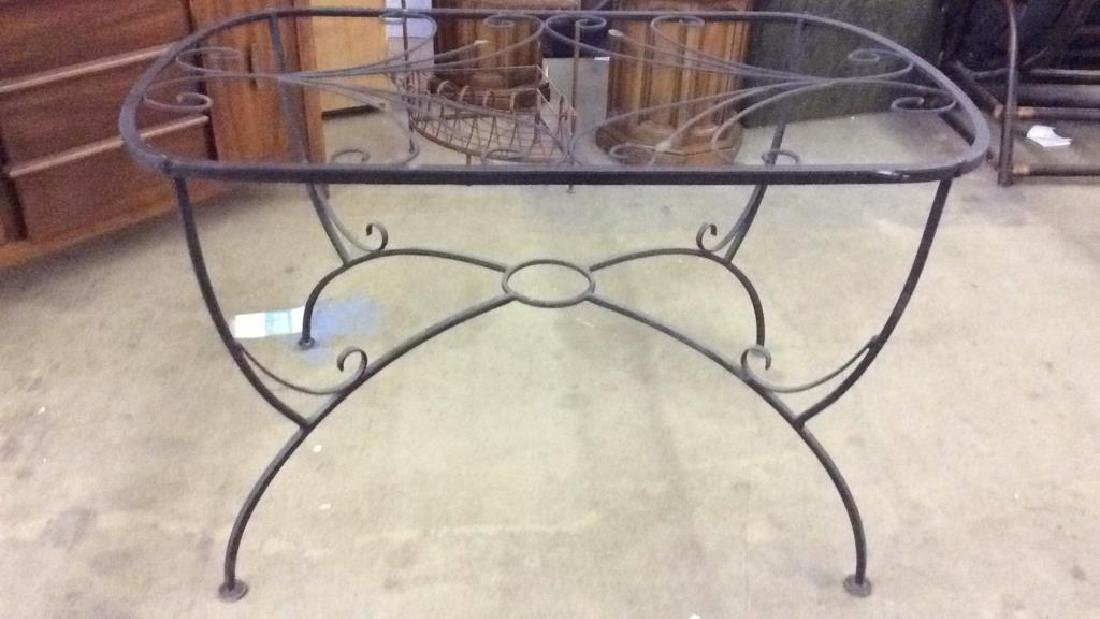 Set 5 Metal Outdoor Table & Chairs - 7