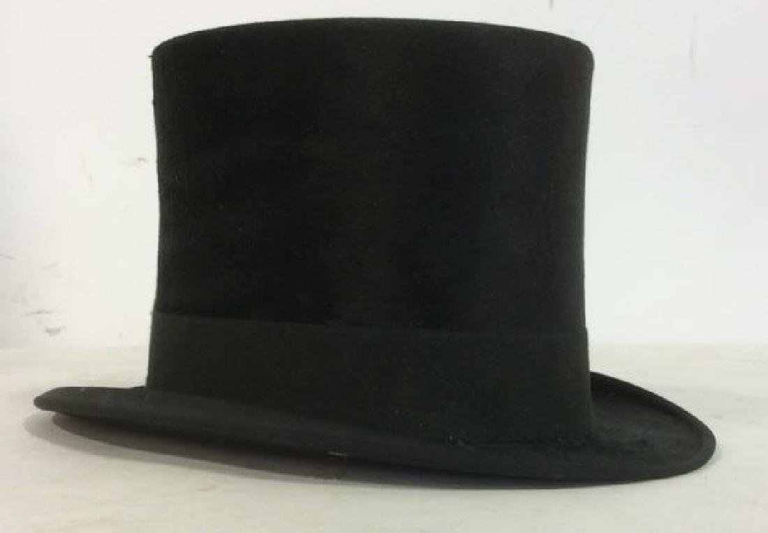 Rogers Peet Company Antique Top Hat, NYC - 3