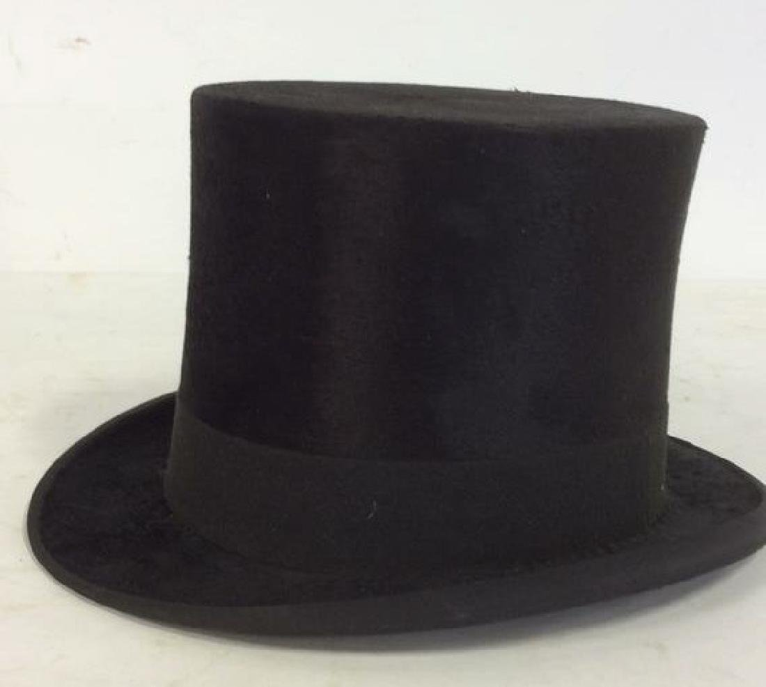 Rogers Peet Company Antique Top Hat, NYC - 4