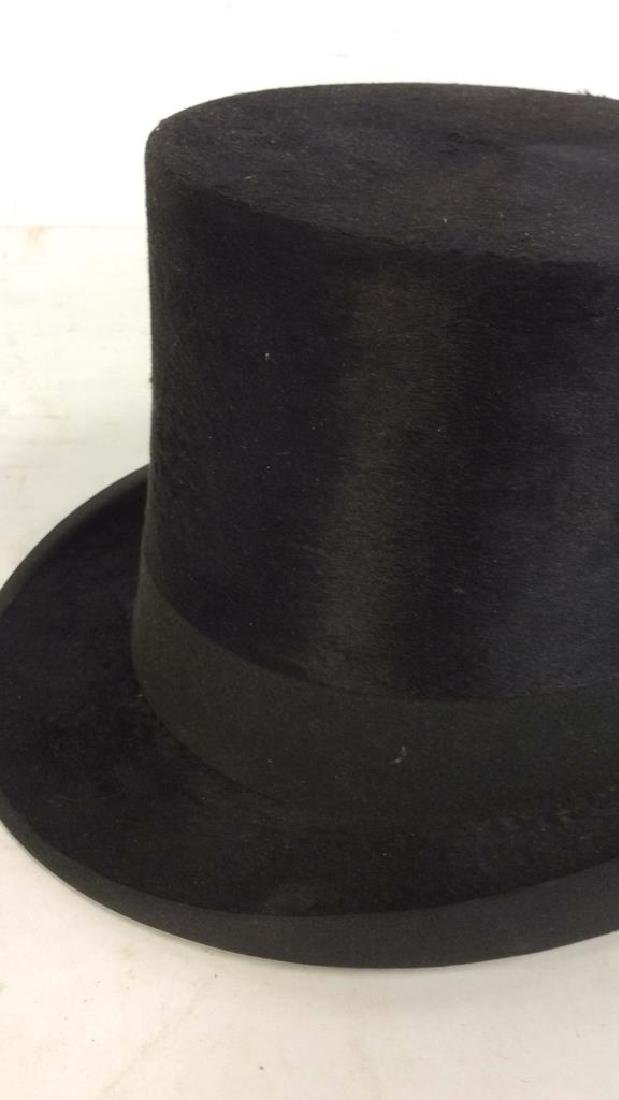 Rogers Peet Company Antique Top Hat, NYC - 5