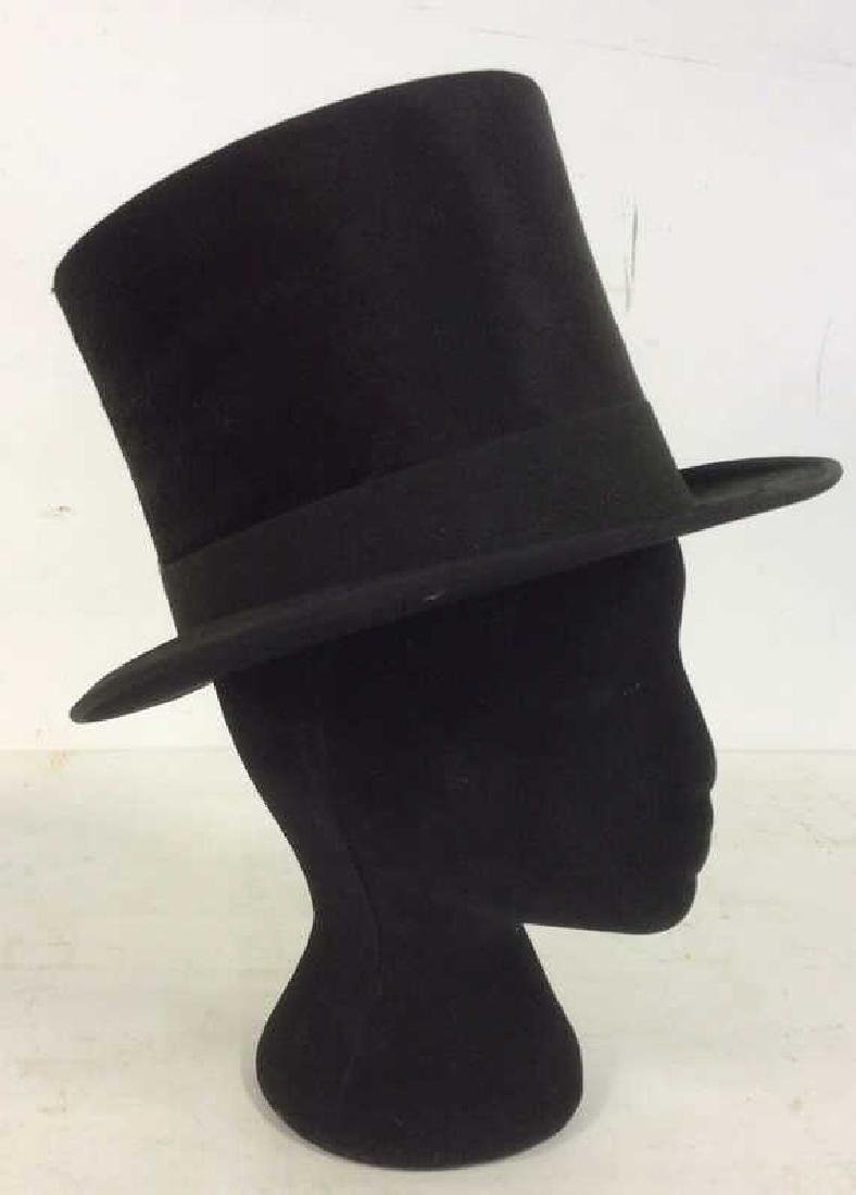 Rogers Peet Company Antique Top Hat, NYC - 8