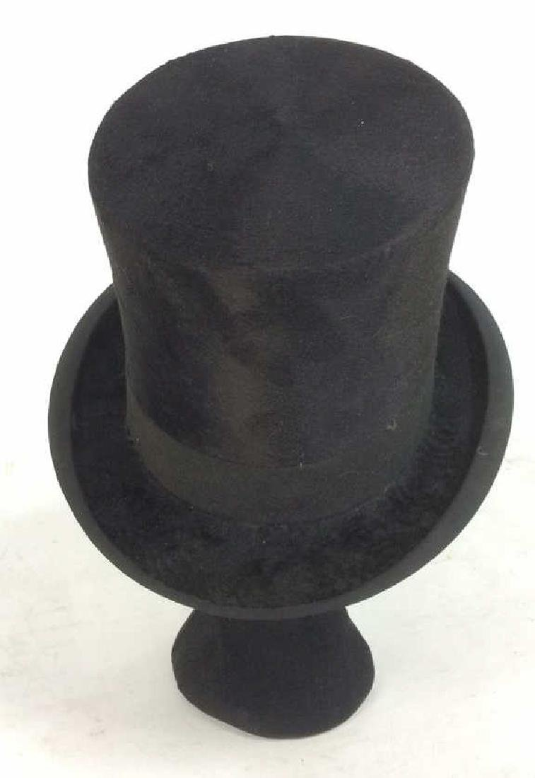 Rogers Peet Company Antique Top Hat, NYC - 9