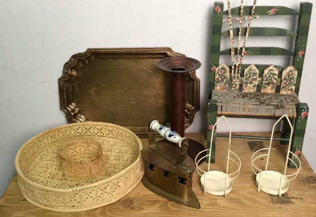 Lot 7 Assorted Home Decor & Tabletop Acc