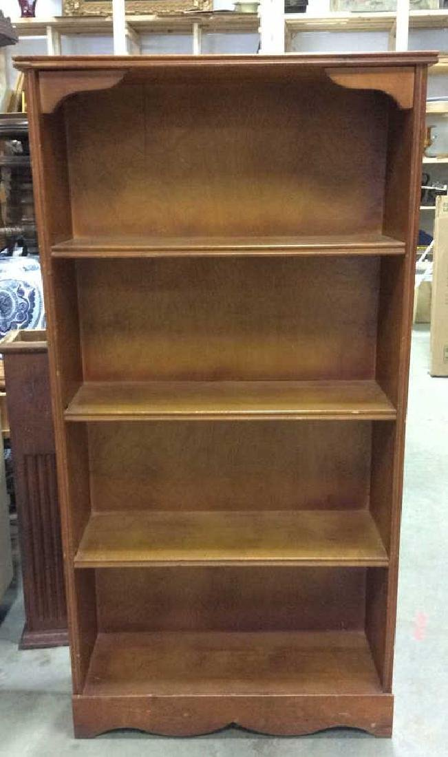 SALMANSON & COMPANY Wooden Bookshelf