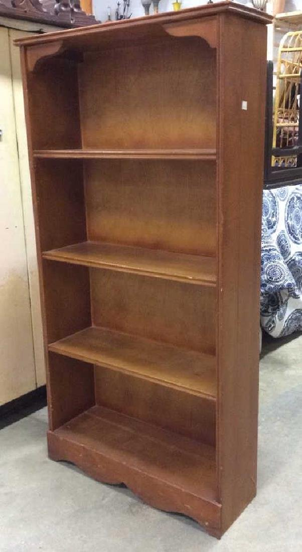SALMANSON & COMPANY Wooden Bookshelf - 2