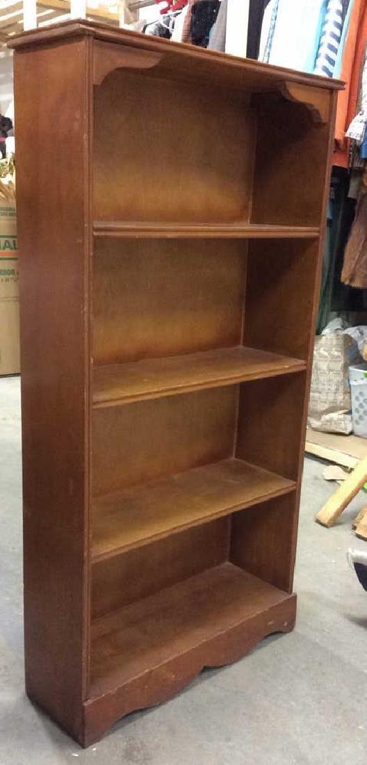 SALMANSON & COMPANY Wooden Bookshelf - 3