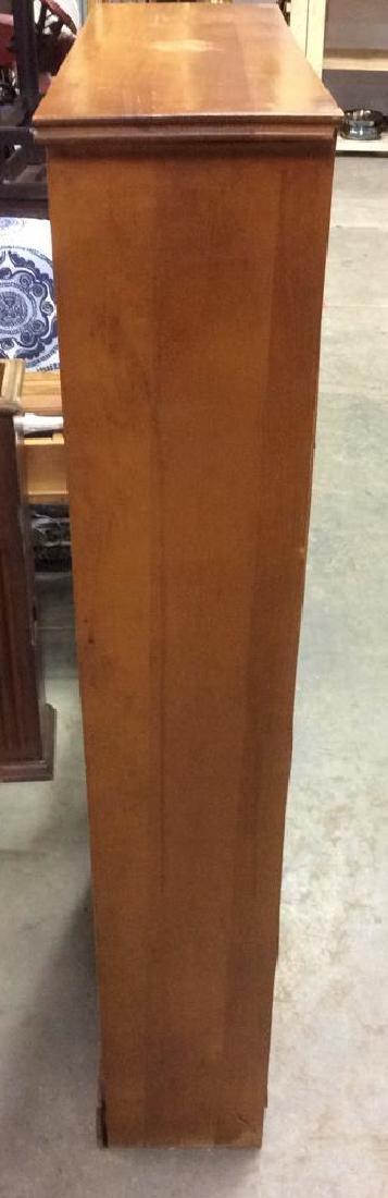 SALMANSON & COMPANY Wooden Bookshelf - 4
