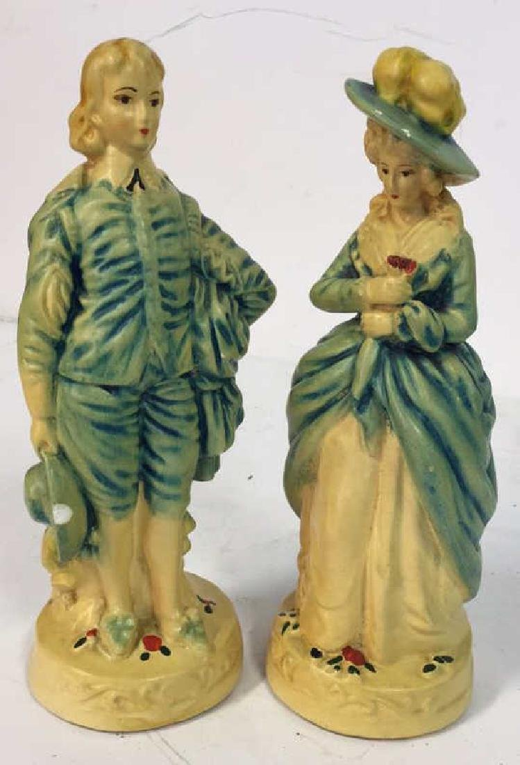 Pair Male Female Victorian Figurals