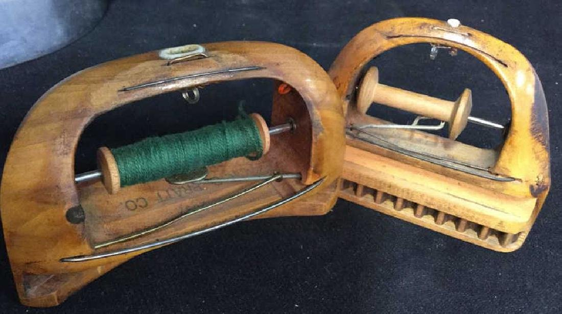 Group Antique Sewing and Needlework Tools - 3