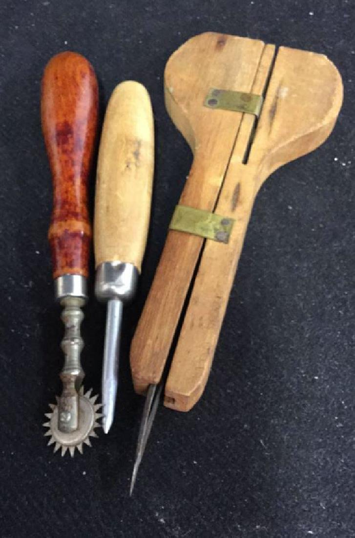 Group Antique Sewing and Needlework Tools - 7