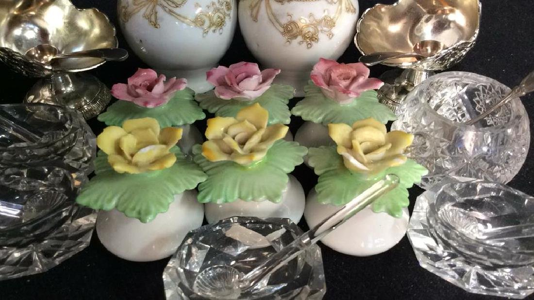 Collection Salt Cellars shakers and more