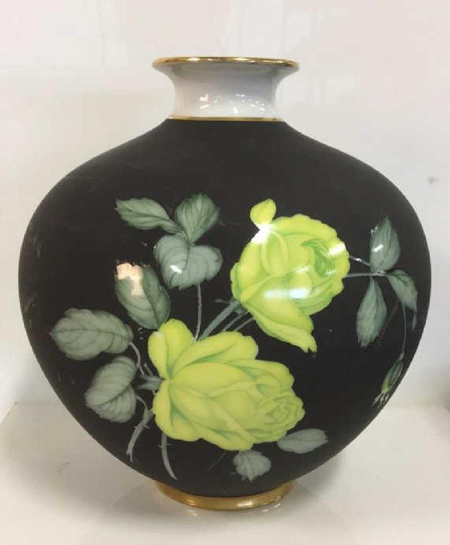 HEINRICH German Oblong Floral Vase