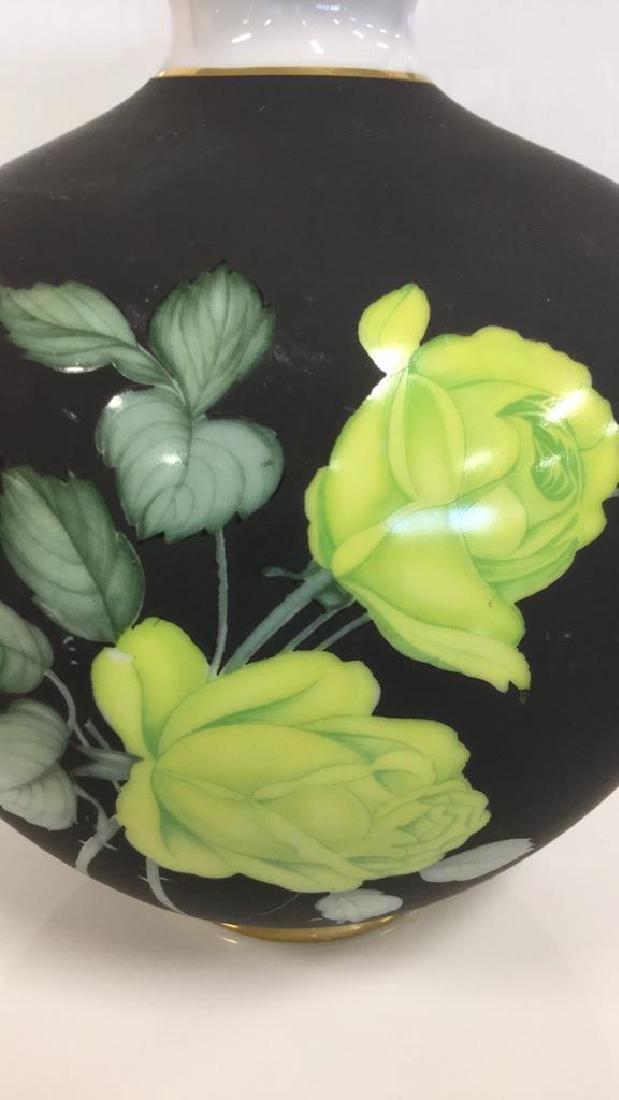 HEINRICH German Oblong Floral Vase - 2