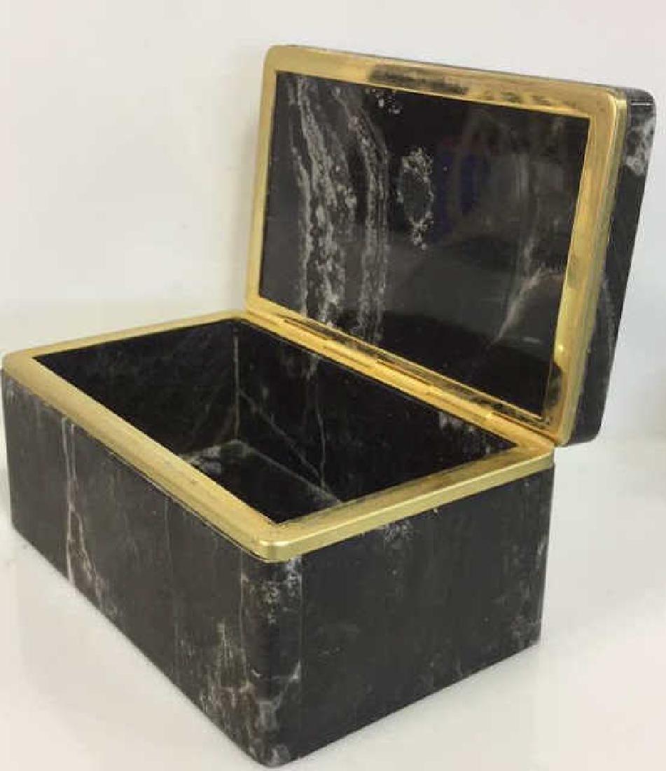 Chiarugi&C Italian Onyx Trinket Box