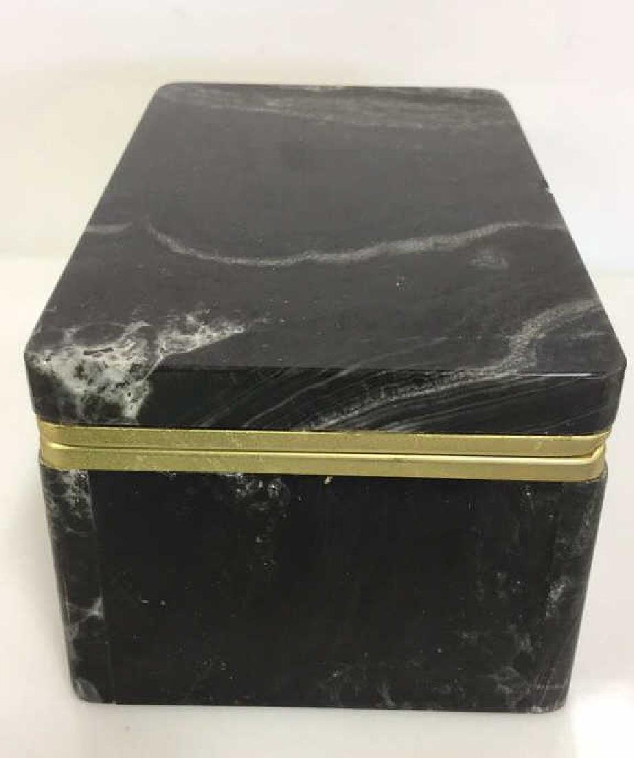 Chiarugi&C Italian Onyx Trinket Box - 3