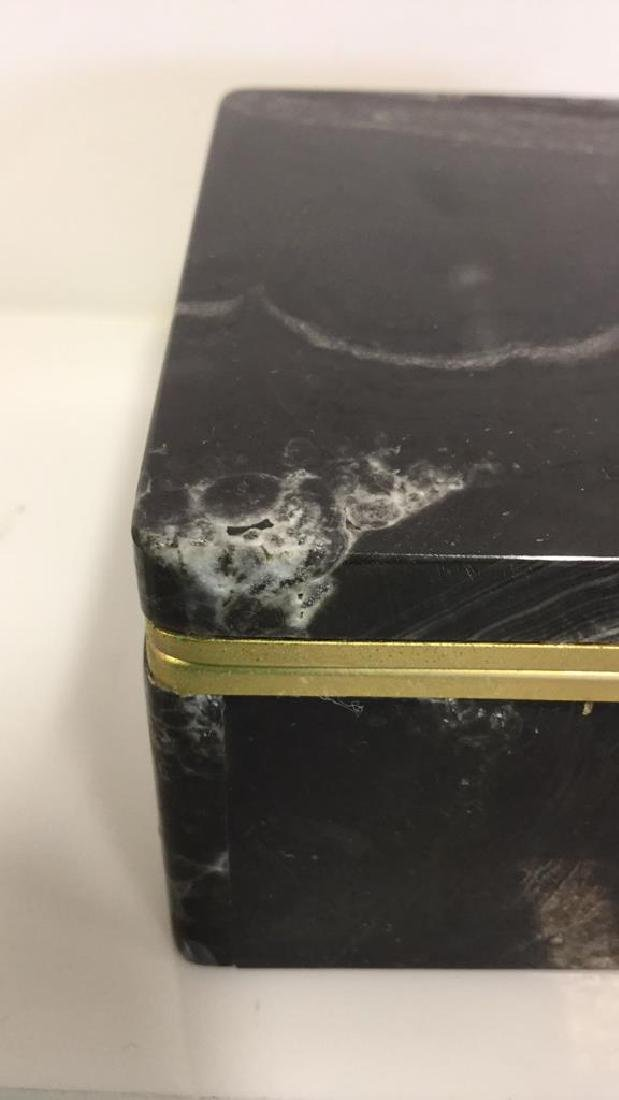 Chiarugi&C Italian Onyx Trinket Box - 5